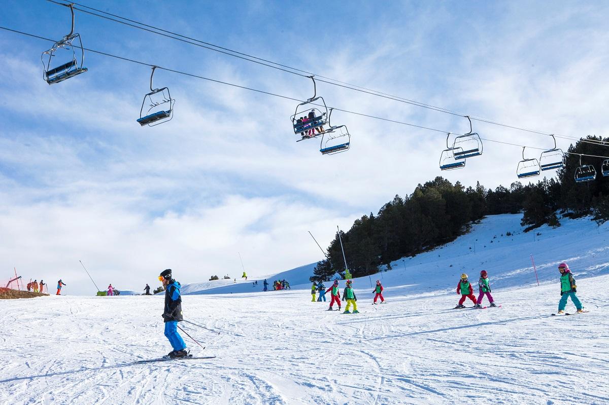 Actividades Grandvalira Jardín 3 Dias - Esquí - Dia Completo - De 3 A 5 Años